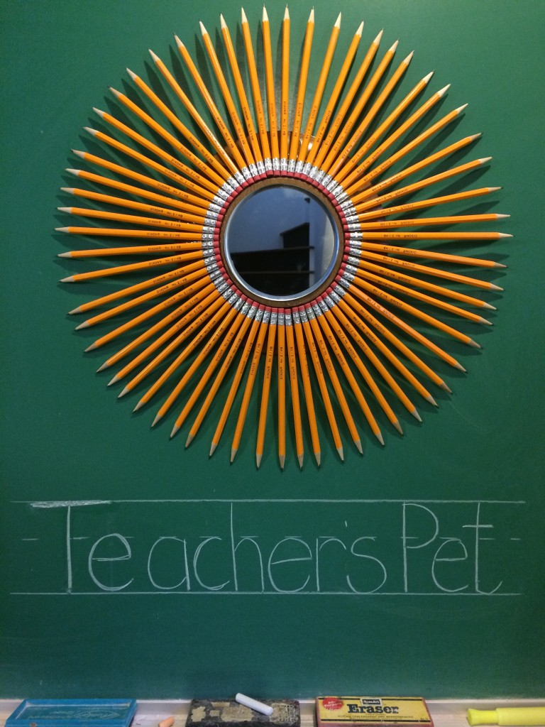 Teacher's Pet Sunburst Mirror