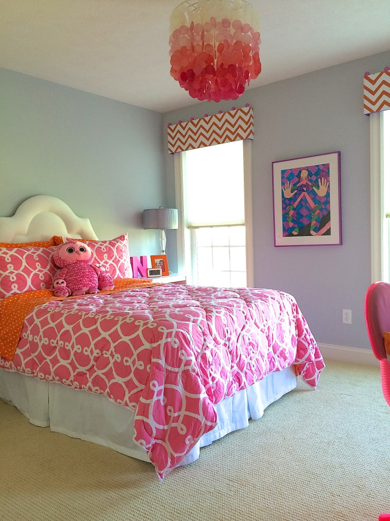 Tween bedroom makeover by Meme Hill Studio