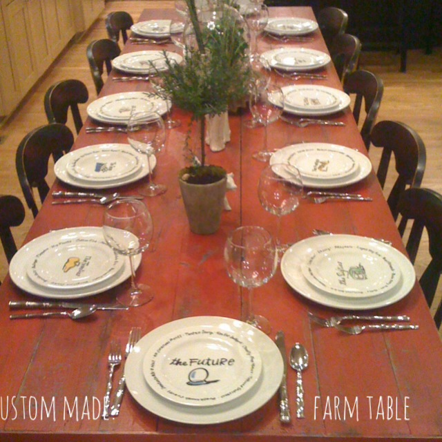 DIY Farm table for 14 please