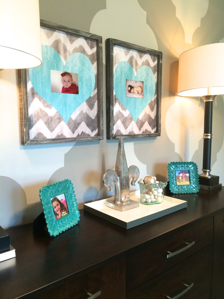 Chic and functional back to school mom home office makeover