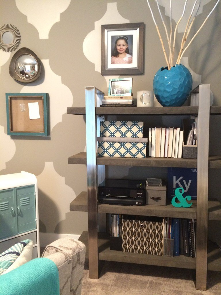 Cic and functional Back to School Mom Office Makeove