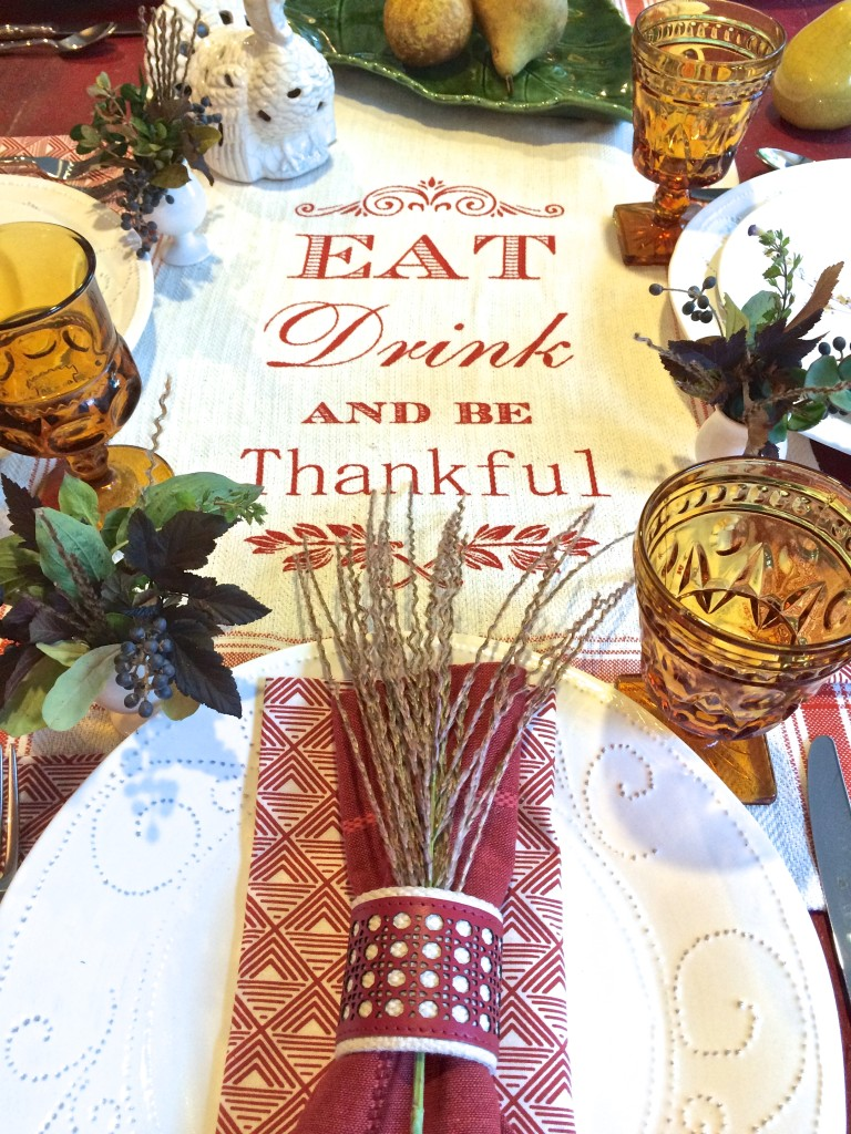 Friendsgiving: Eat, drink, and be Thankful.