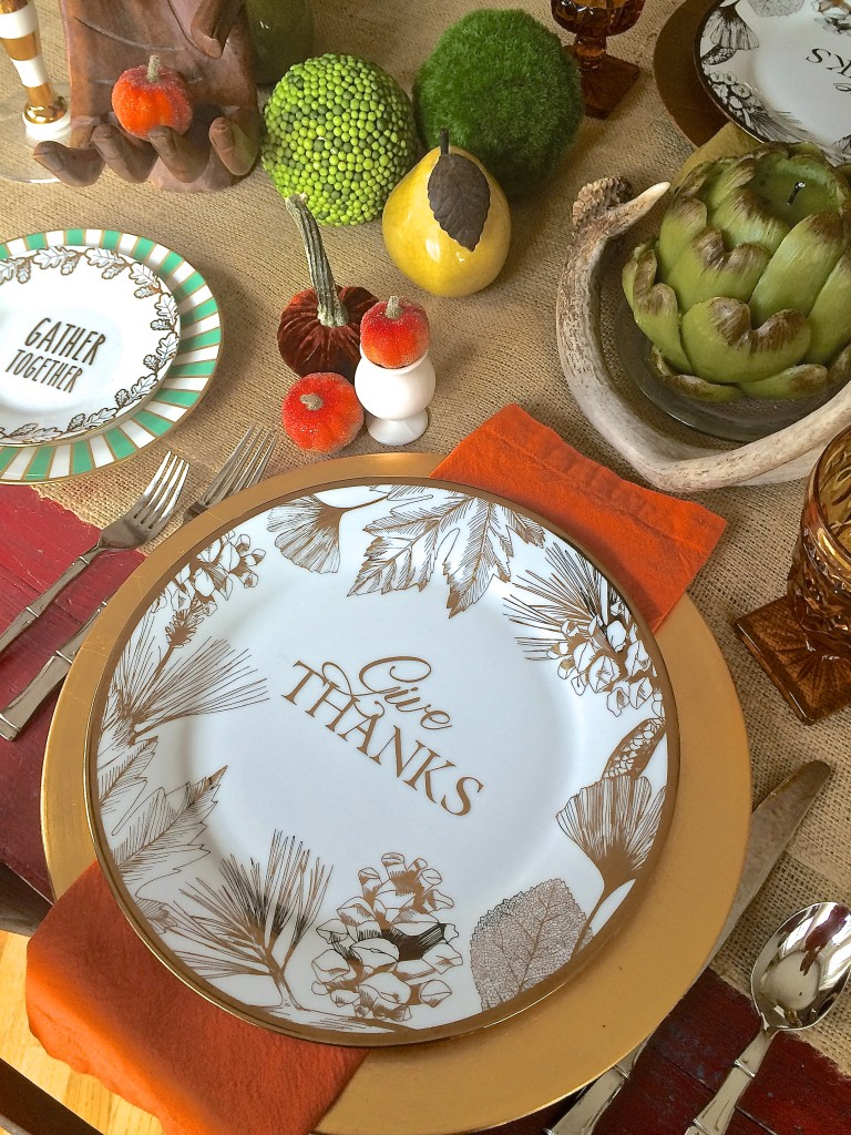Thanksgiving Entertaining: High-Low Style