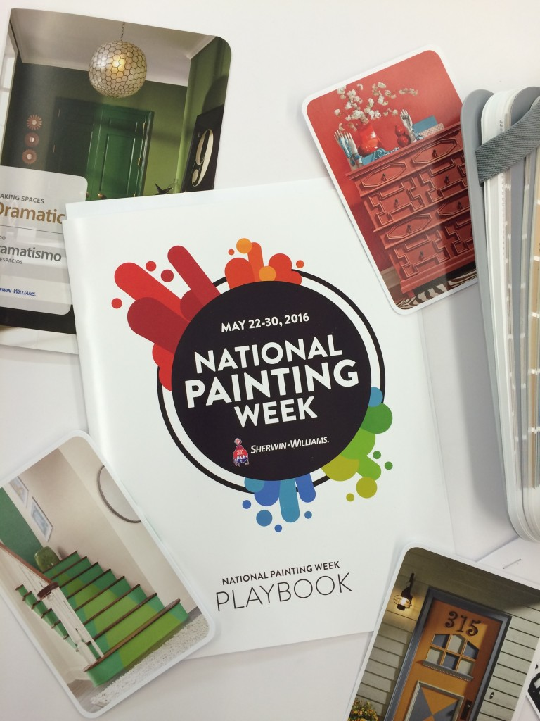 National Painting Week Spring Spruce up with Sherwin Williams
