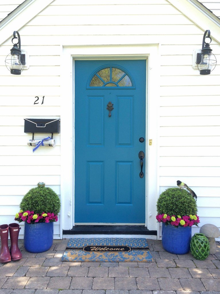 National Painting Week Front Door Spring Spruce up with Sherwin Williams