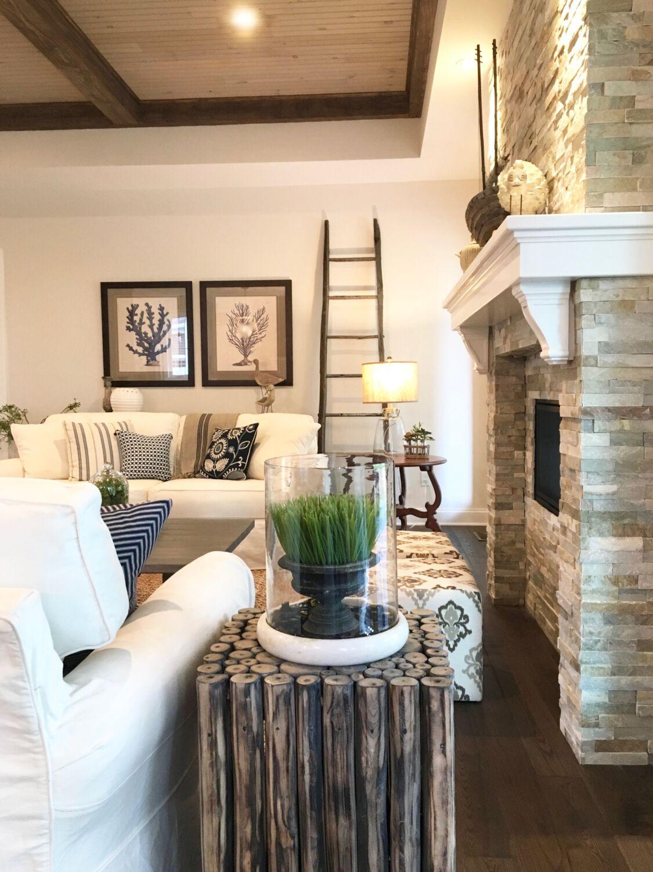 COASTAL INSPIRED HOME design