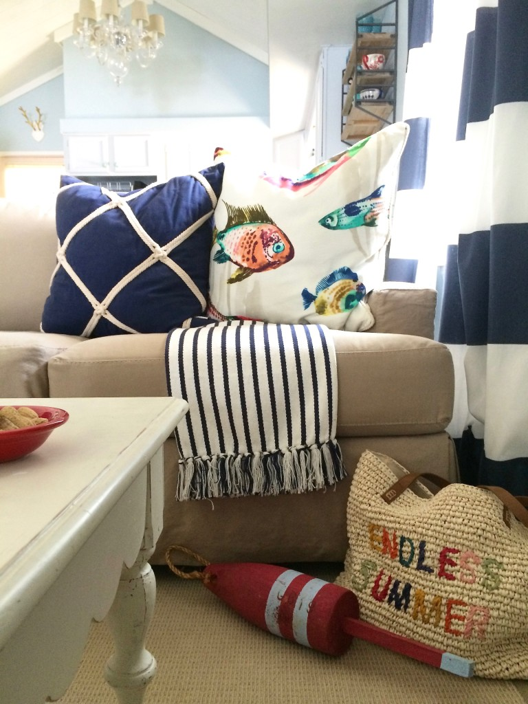 Summer Home Tour: Its a shore thing