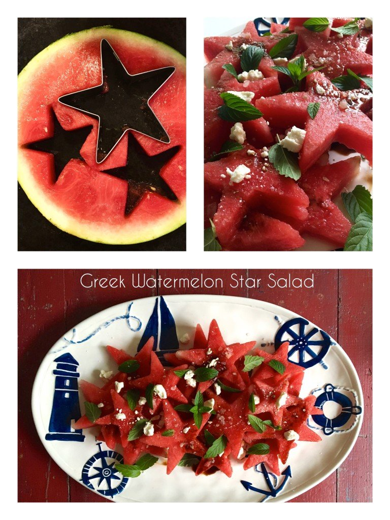 watermelon stars summer salad ideas