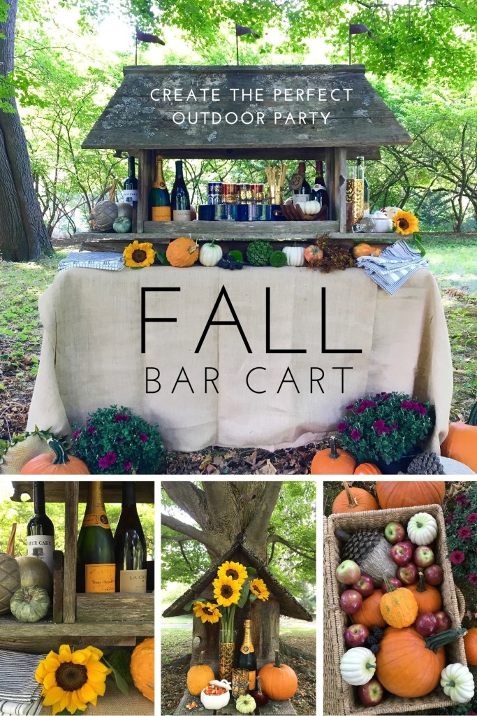 fall_bar_cart_outdoor_party_wine_entertaining_ideas