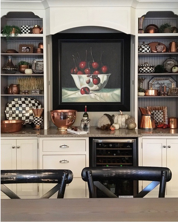 fall_home_tour_traditonal_decor-_home_kitchen_ideas_copper_shelving_mackenzie_childs