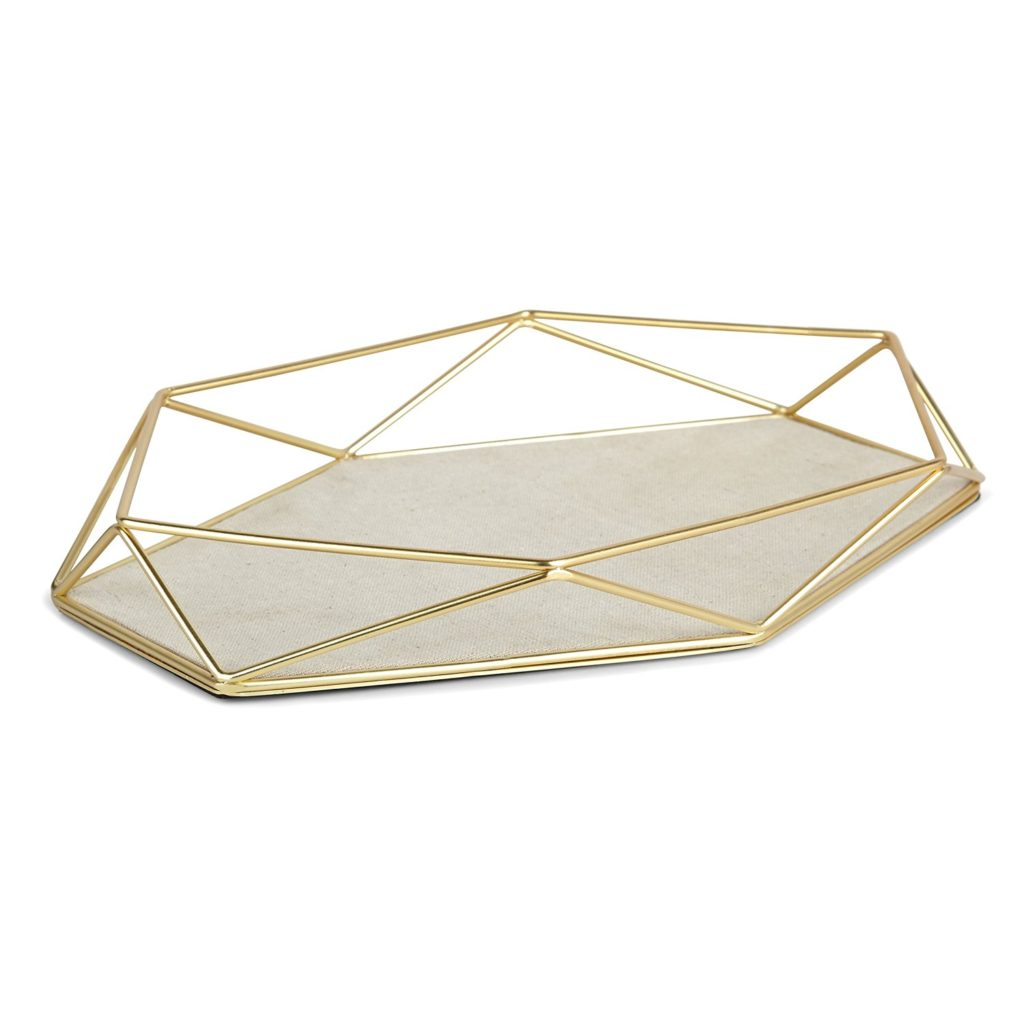 brass-gold-modern-prism-jewelry-tray-perfume-chic-closet-linen-organization
