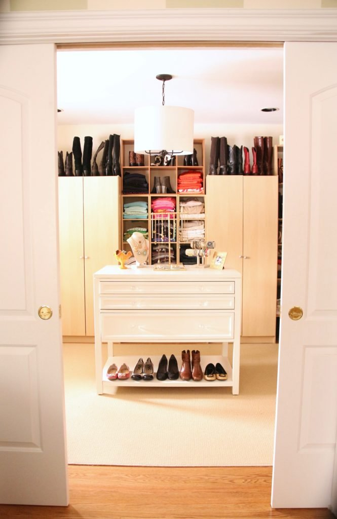Creating And Organizing A Dream Walk In Closet