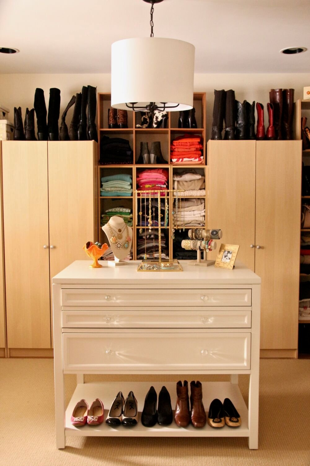 Dream Walk In Closet Organizing Jewelry Clothes Homegoods Home
