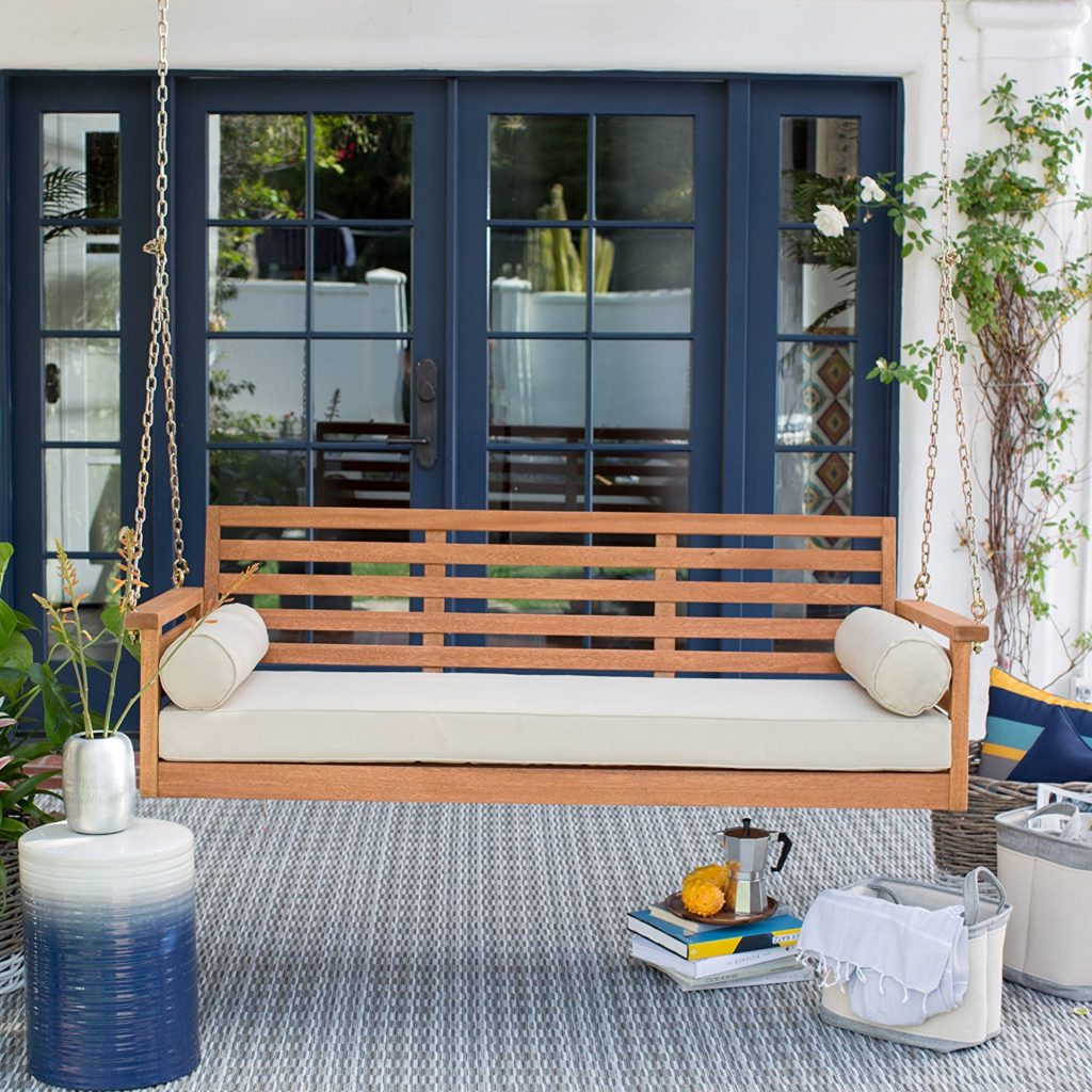 large-porch-swing_outdoor_living_peaeful_furniture_teak_cushioned_wood_coastal_living