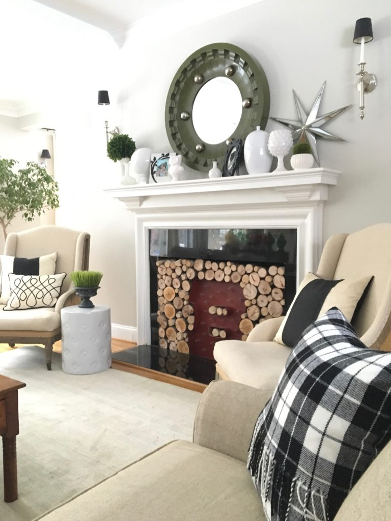 livingroom-black-white-clean-fireplace-mantel-decor-decorating-ideas-bright-interior-design