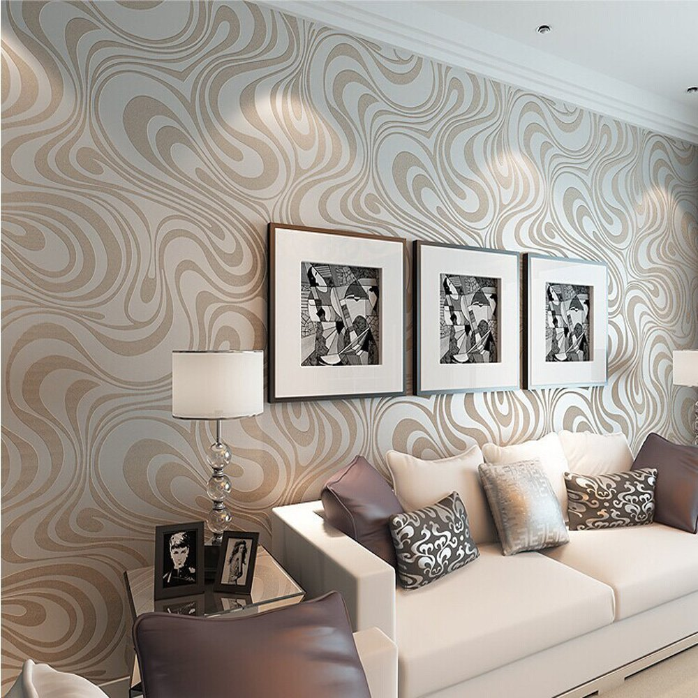 mod-retro-chic-metallic-wavy-wallpaper-trends-home-decor-decorating-2017