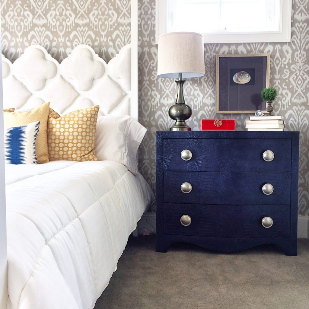 navy-blue-faux-crocodile-bachelors-chest-furniture-accent-home-decor-navy-bedroom-furniture-trends