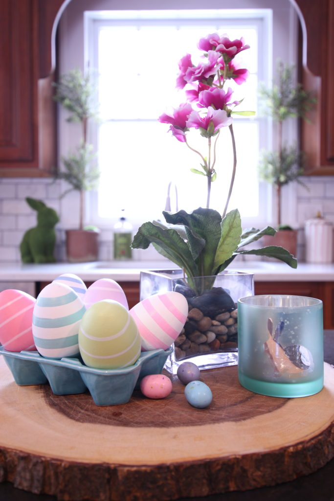 HomeGoods_Easter_eggs_turquoise_glass_painted_Rabbits_meme_hill_studio_kitchen_crocus_painted_eggs