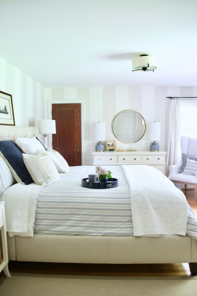 Here S 5 Ways That I Created Our New Serene Master Bedroom Suite Of Own