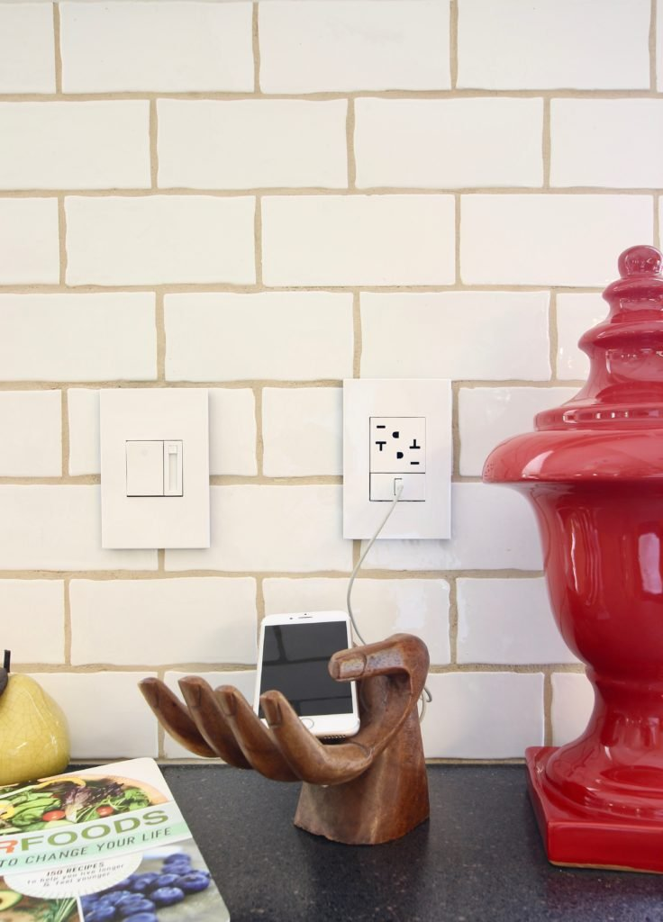 LeGrand Adorne outlets and charging station