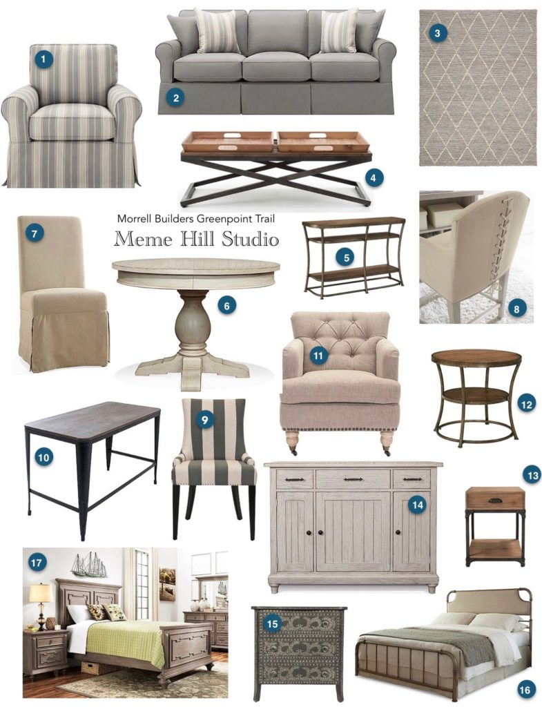 Here Are The Furniture Vision Boards That I Proposed To Morrell. Creating A  Vision Board Is A Wonderful Way To Show A Client A Cohesive Look Of How The  Home ...