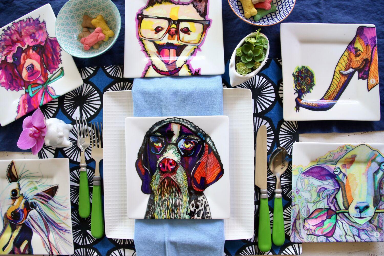 kaaren_anderson_Solvieg_studio_meme_hill_dog_portraits_plates_dogs_cats_animal