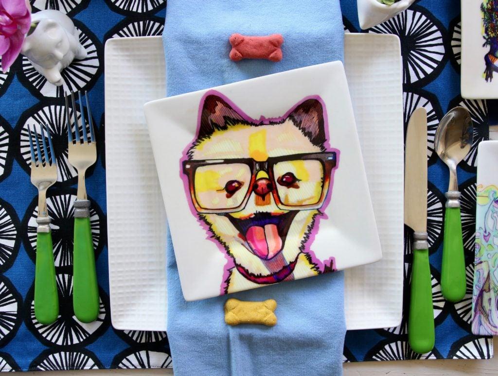 kaaren_anderson_Solvieg_studio_meme_hill_dog_portraits_plates_whimsical_art