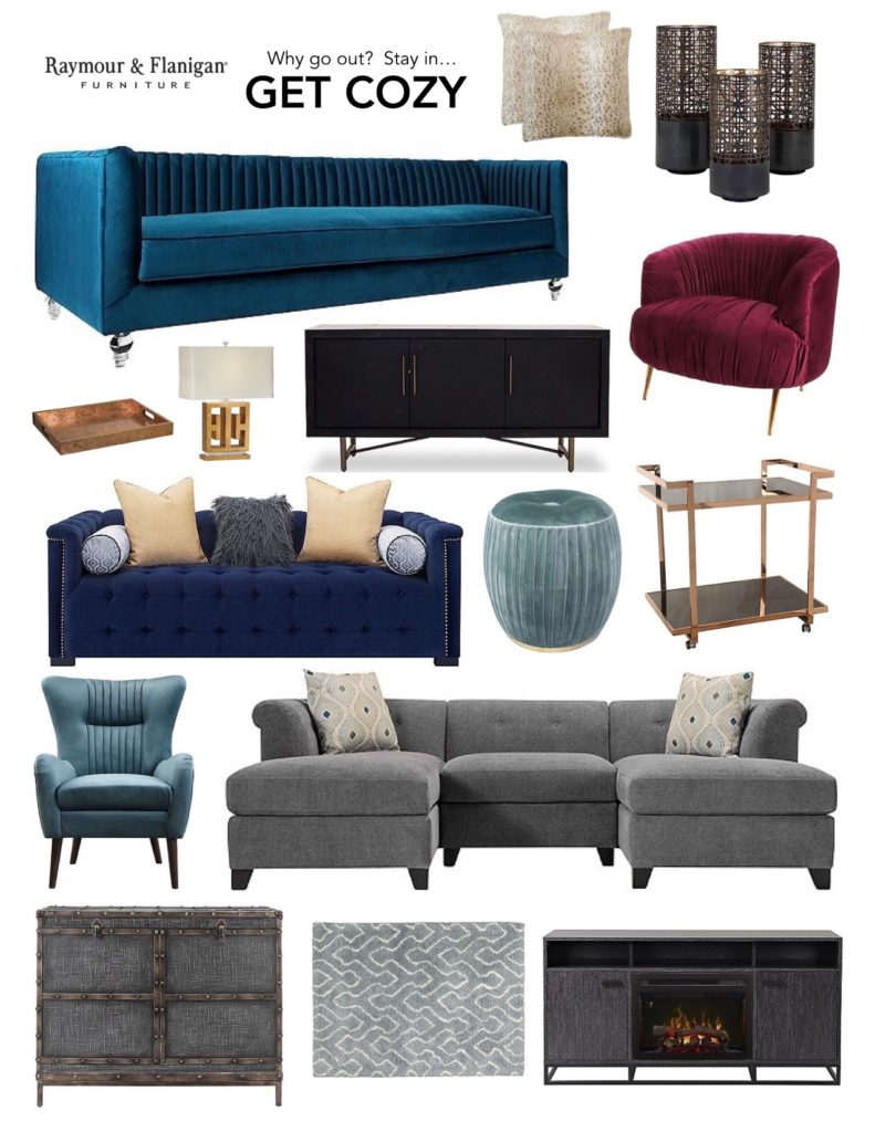 Discover January S Best Get Cozy Furniture With Raymour