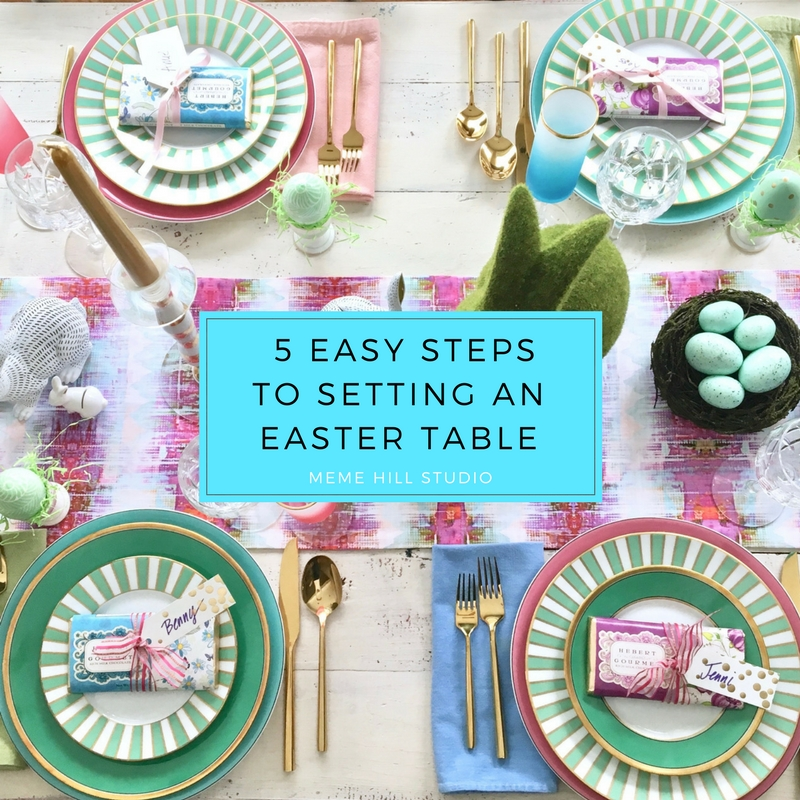 Meme_Hill_AMie_freling_centerpiece_flower_floral_Easter_decorarting_ideas_setting_table_homegoods_colorful_easy_tips_farmhouse_hydrangea_china