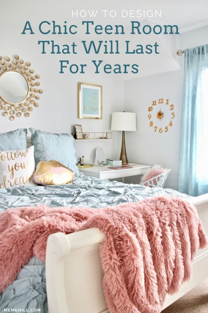 How to design A Chic Teen room that will last for years