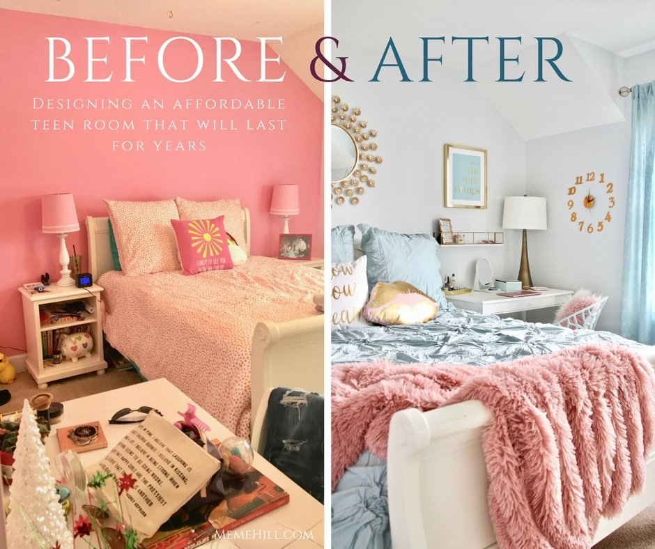 designing an affordable teen room that will last for years