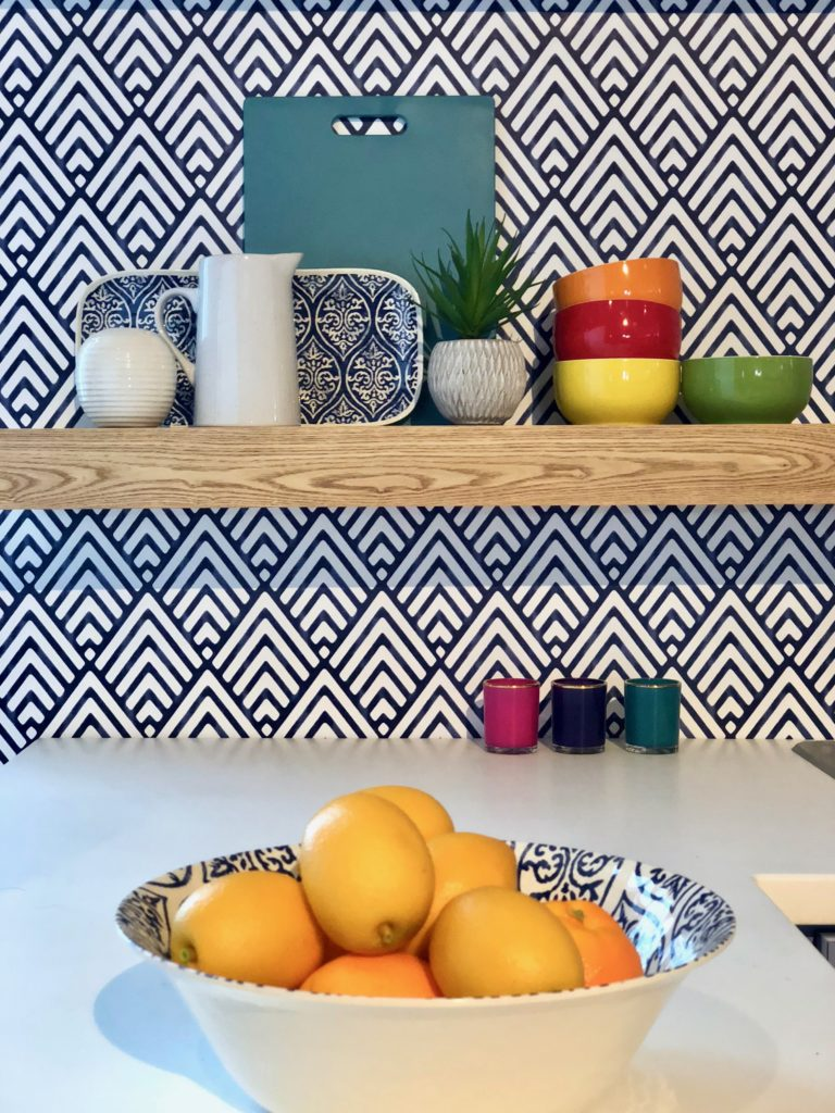 , hgtv magazine, blogger block party, who's at the hgtv block party, Delta faucet and hgtv, delta faucet blogger, kitchen shelf styling