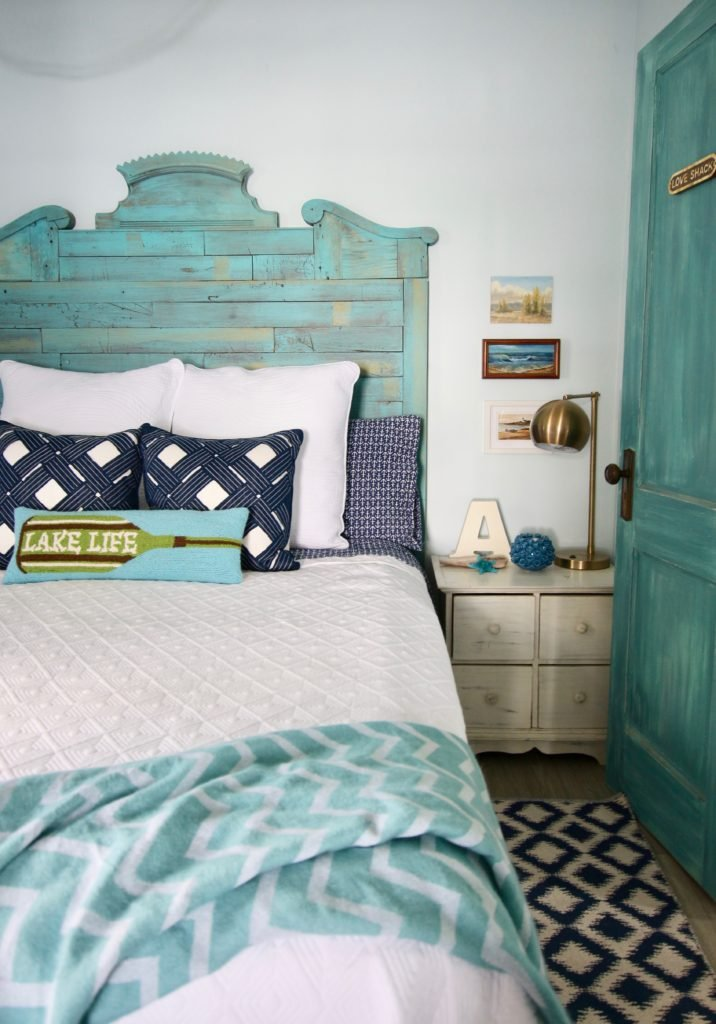 cottage bedroom decorating ideas and navy and turquoise nautical decor