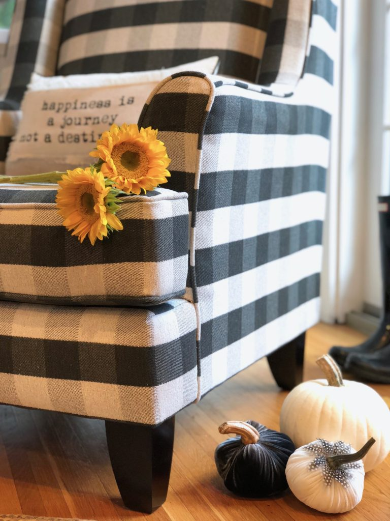 You Ll Love The Most Comfortable Black Buffalo Plaid Chair