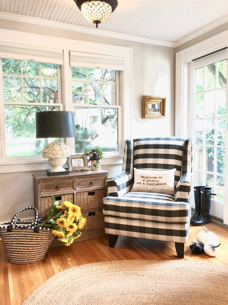 You'll Love The Most Comfortable Black Buffalo Plaid Chair