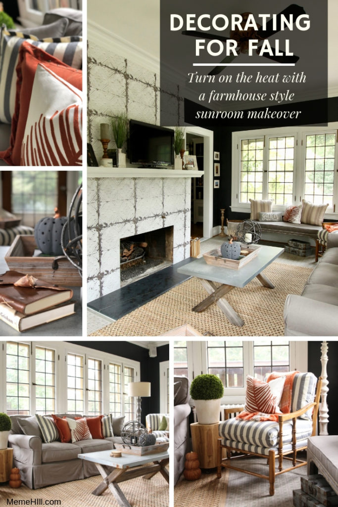 fixer upper, living room ideas, black sunroom