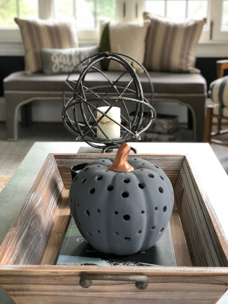 chalkboard pumpkins, light up pumpkins, fall ceramic pumpkins