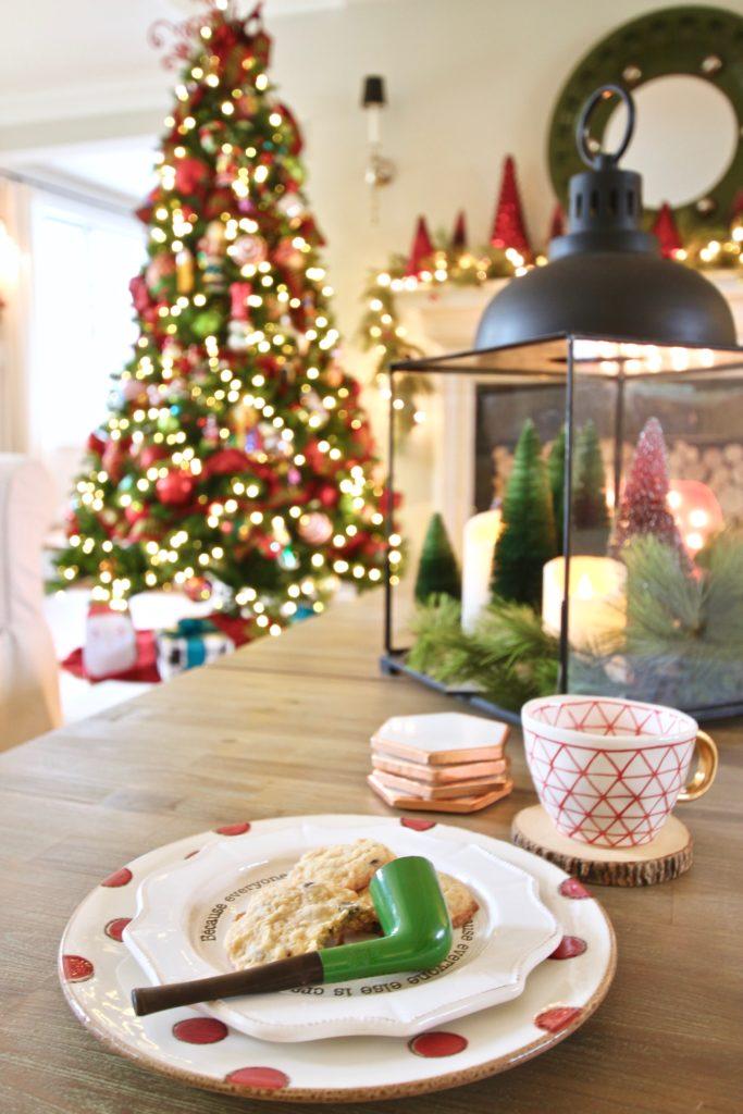 santa's pipe, cookies for santa, the best chocolate chip cookies