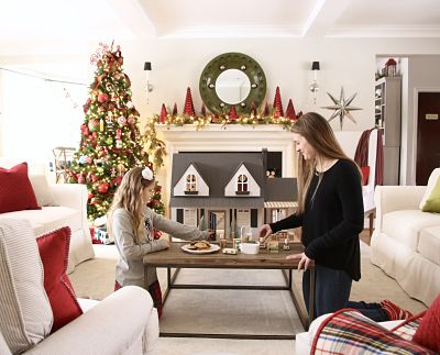 Joanna gaines, fixer upper dollhouse, magnolia market, hearth and hand, target