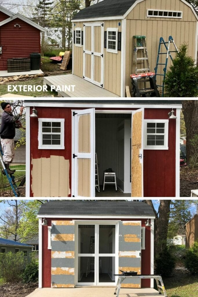 shed turned bunkhouse, she shed ideas, bunkhouse ideas and plans, home depot sheds