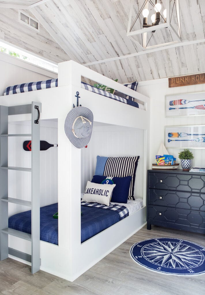 What to buy when decorating a bunkhouse or nautical room