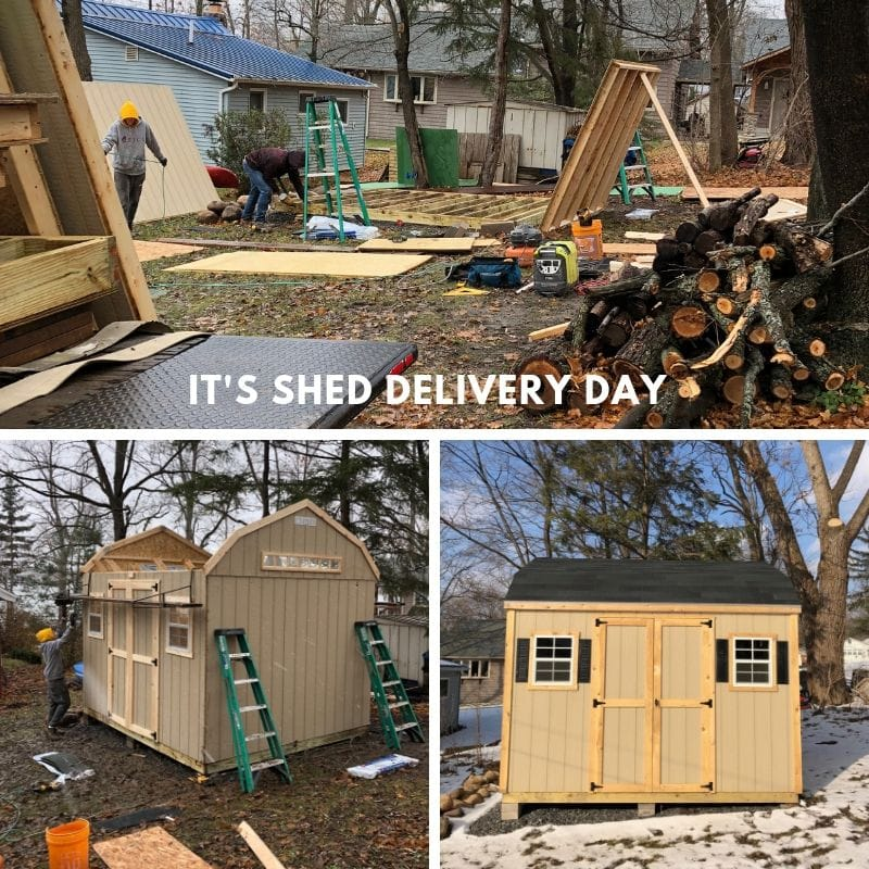 home depot shed delivery, how long does it take to put up a shed, she shed ideas