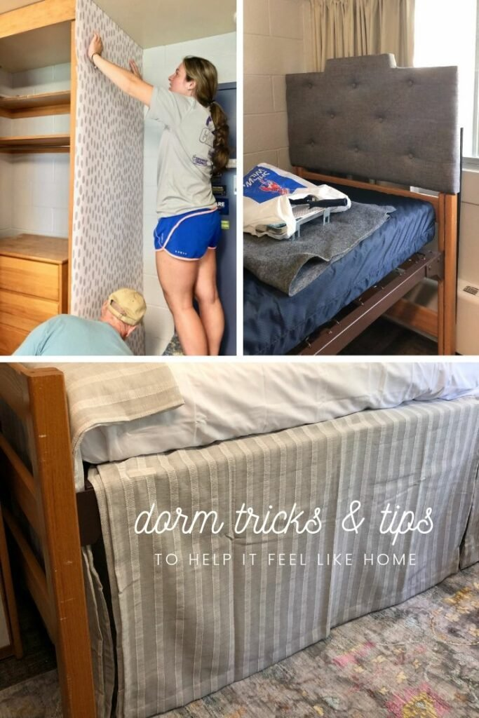 tips and tricks to making a dorm room cozy
