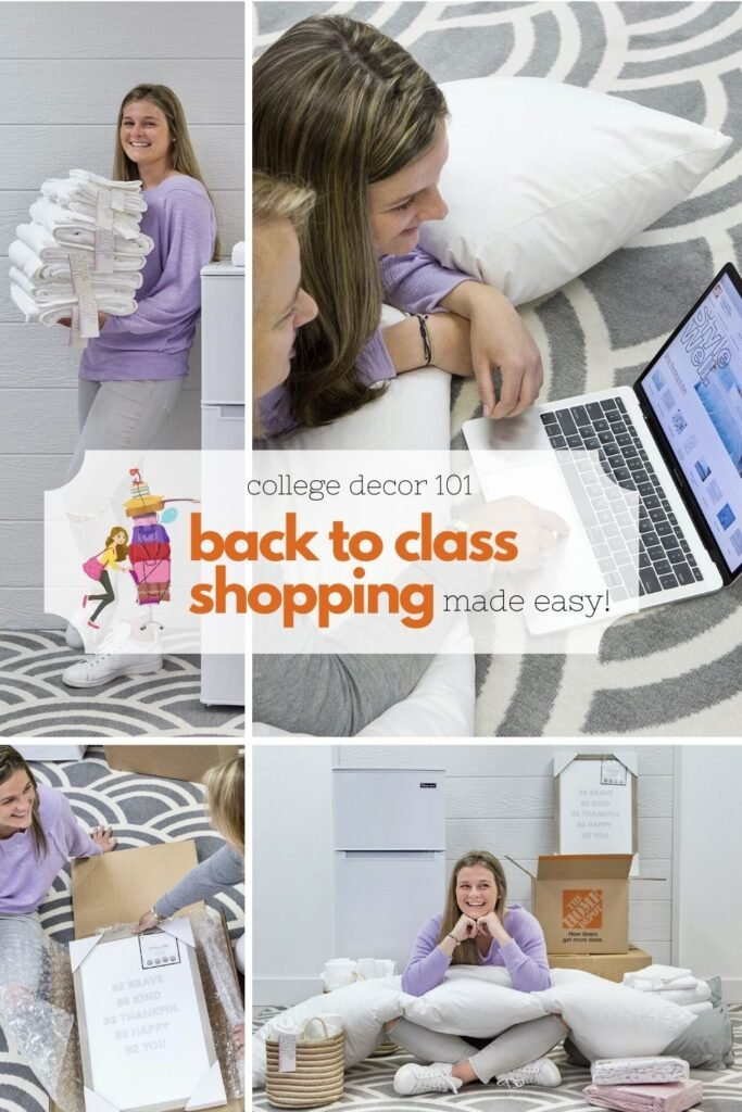 Back To Class Shopping 101 . Dorm, apartment and campus essentials