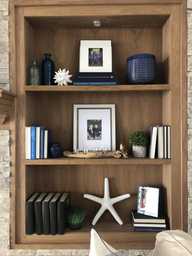 Secrets to Styling Bookcases