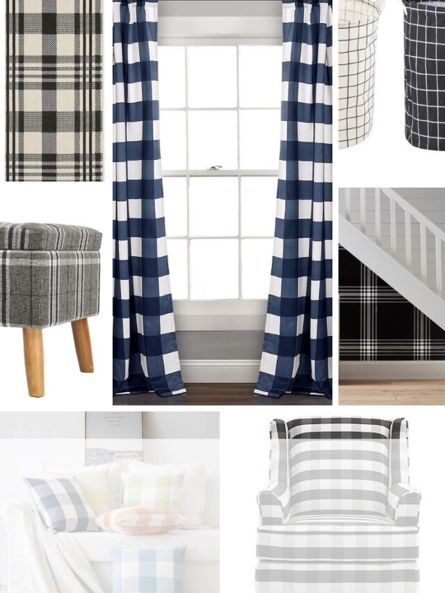 MAD FOR PLAID HOME DECOR
