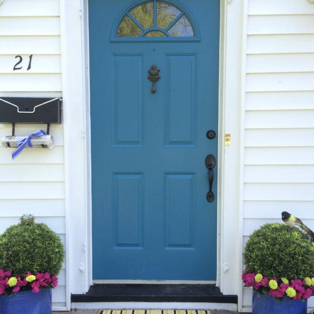 1 Day Front Door Budget Makeover