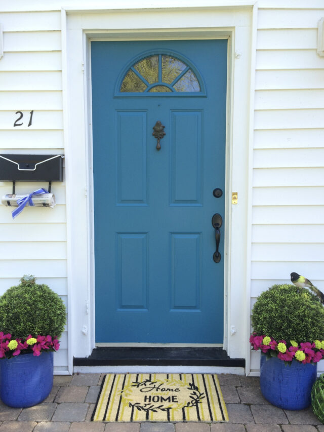 1 Day Front Door Budget Makeover