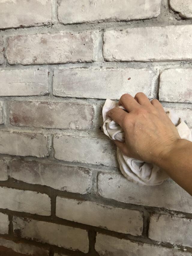How-to Whitewash BRICK
