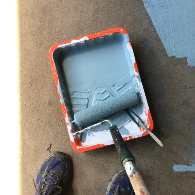 Painting CONCRETE & CEMENT